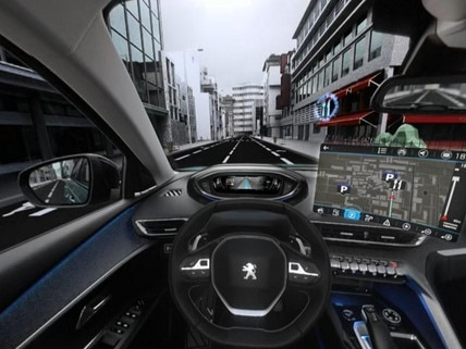 Peugeot  - Virtual Reality -  Connected Navigation