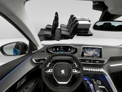 Peugeot  - Virtual Reality - Boot modularity