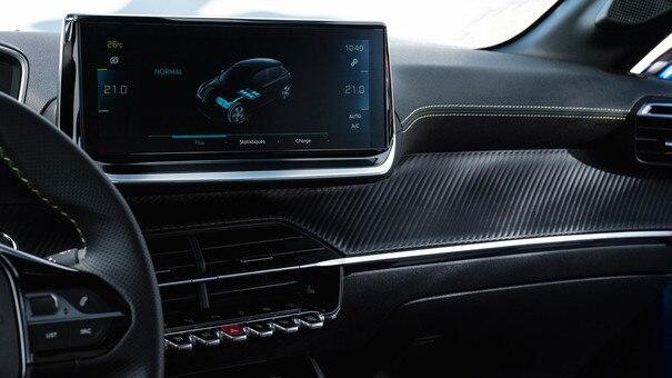 Nieuwe Peugeot 208 - 10 inch 3D-touchscreen
