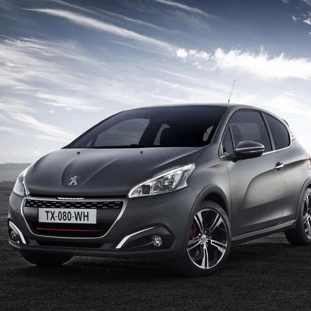 peugeot 208 gti foto 39 s en video 39 s. Black Bedroom Furniture Sets. Home Design Ideas