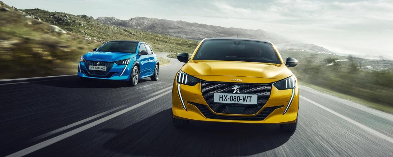 Nieuwe Peugeot 208 - Nieuwe expressieve voorzijde