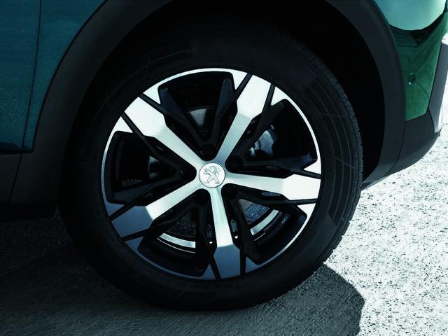 Nieuwe PEUGEOT 5008 SUV: Fraaie velgen
