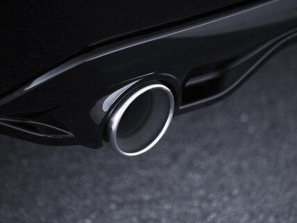 De nieuwe Peugeot 308 GTi by Peugeot Sport: uitlaatpijp