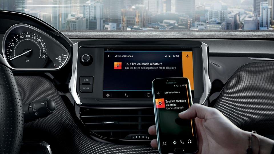 Peugeot 208 - 5 deurs - Mirror Screen compatibiliteit smartphone