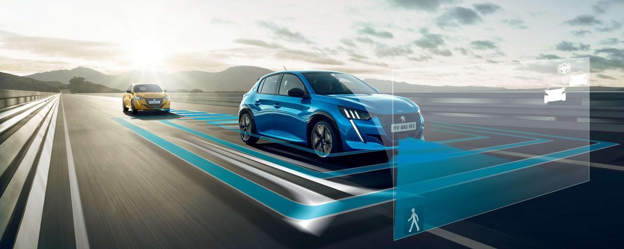 Nieuwe Peugeot 208 - Rij- en parkeerhulpsystemen