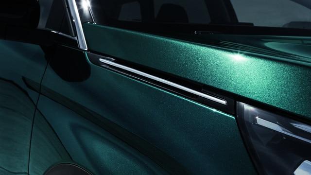 Nieuwe PEUGEOT 5008 SUV: Aluminium dakrails