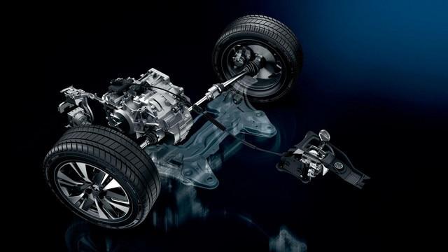 Peugeot 2008 SUV - onderstel