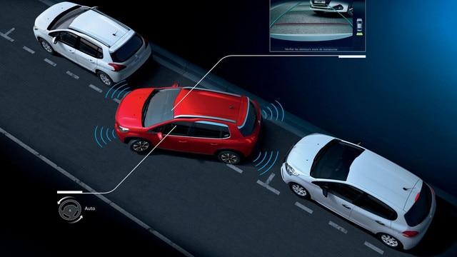 Peugeot 2008 SUV -  Actieve parkeerhulp