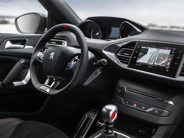 De nieuwe Peugeot 308 GTi by Peugeot Sport: interieur