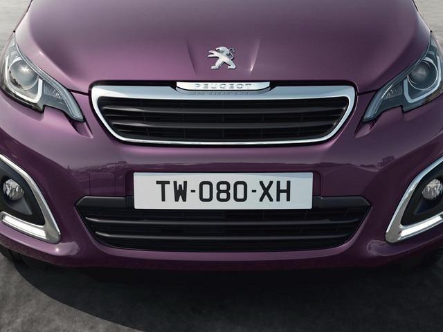 Peugeot 108 -  Bijzondere lichtsignatuur voorzijde