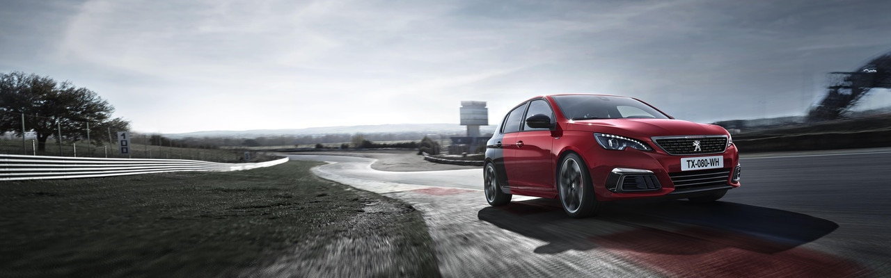 De nieuwe Peugeot 308 GTi by Peugeot Sport: Coupe Franche rood/zwartIN ALLE OPZICHTEN