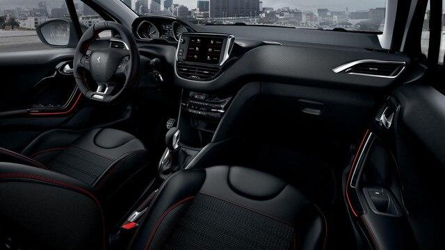 Peugeot 208 5 deurs - interieur - compacte stuurwiel