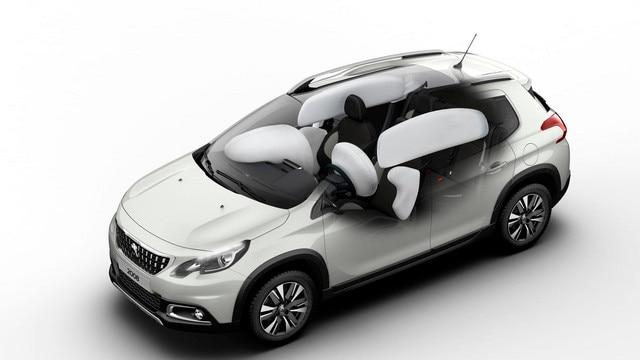 Peugeot 2008 SUV - airbags