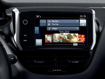 Peugeot 208 5 deurs - 7 inch touchscreen