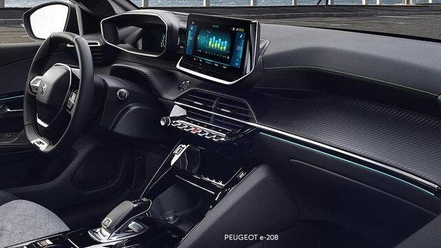 Nieuwe Peugeot e-208 - nieuwe PEUGEOT i-Cockpit® 3D