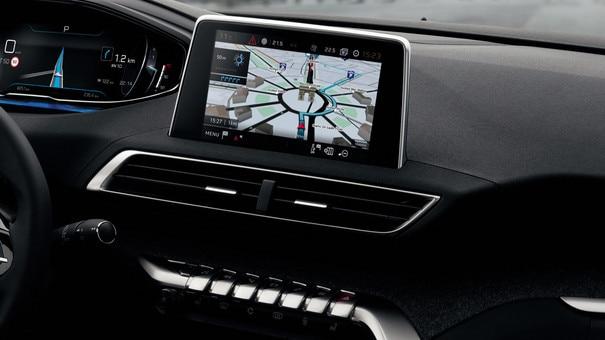 Nieuwe PEUGEOT 5008 SUV: 8 inch capacitief touchscreen