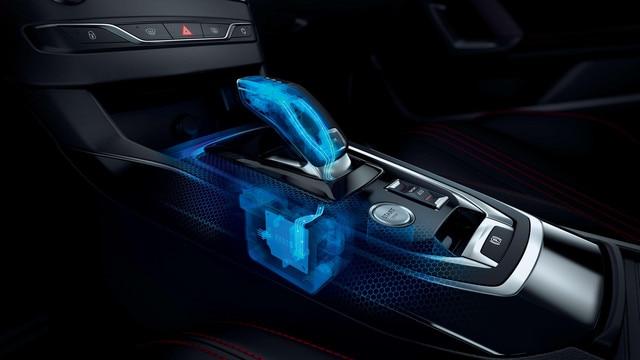 De nieuwe Peugeot 308 GT – Versnellingshendel