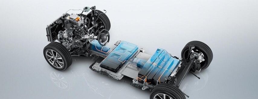 Nieuwe Peugeot e-208 – Elektrische aandrijflijn