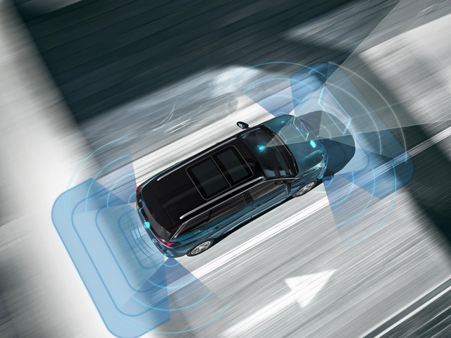 Nieuwe PEUGEOT 5008 SUV: Veiligheidsvoorzieningen