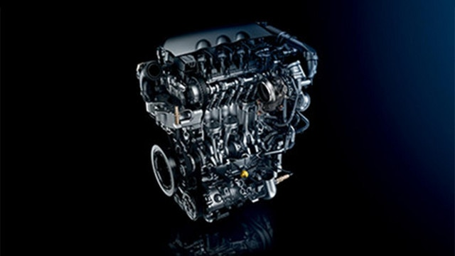 Nieuwe PEUGEOT 5008 SUV: Euro 6 PureTech-driecilinderbenzinemotoren