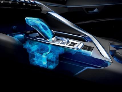 Nieuwe PEUGEOT 5008 SUV: 6-traps automatische transmissie EAT6