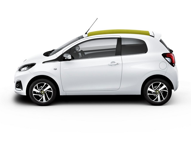 Peugeot 108 - Personalisatie thema 'Pack Ambiance Blue'