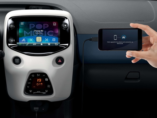 Peugeot 108 - Touch Screen-technologie bediening