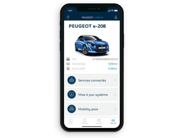 Peugeot Mobility Pass - Optie in MyPeugeot