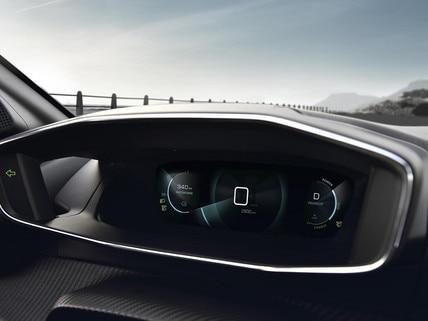 Nieuwe Peugeot e-208 - Digitaal 3D-instrumentenpaneel