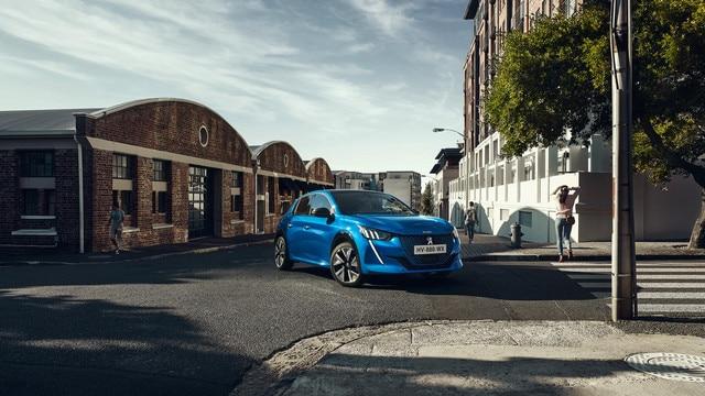 Nieuwe Peugeot e-208 - Karakteristiek en sportief design