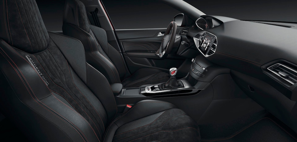 Peugeot 308 GTi - interieur