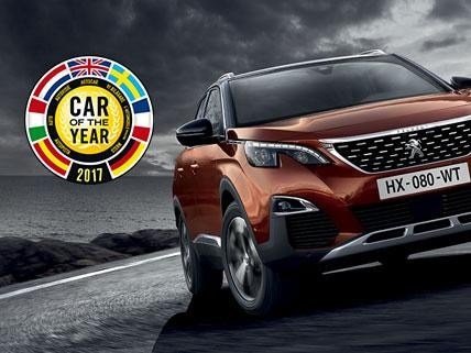 Peugeot 3008 SUV Car of the year 2017
