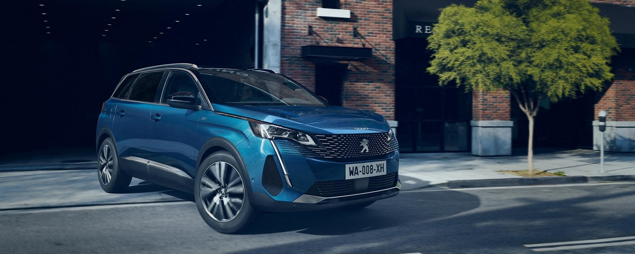 Nieuwe Peugeot 5008 SUV - met 7 zitplaatsen