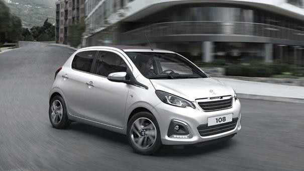 Peugeot 108 - Private Lease