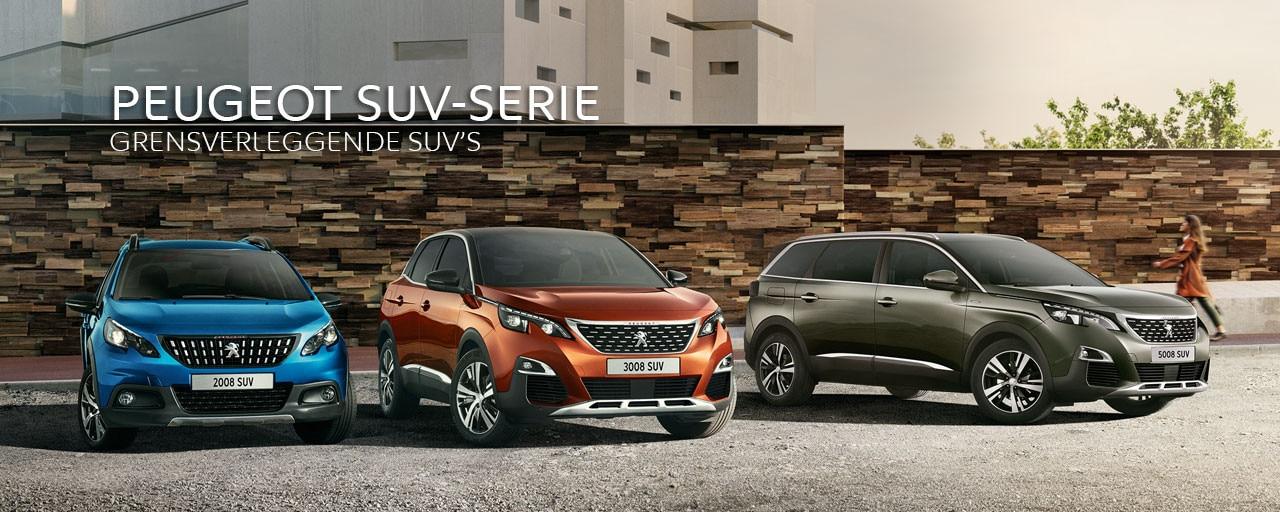Peugeot SUV-serie - Grensverleggende SUV's