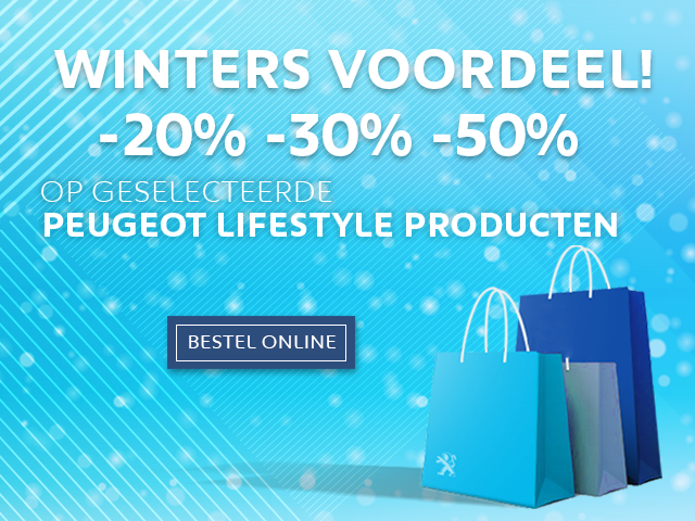 Peugeot Boutique Lifestyle -  Winters voordeel!