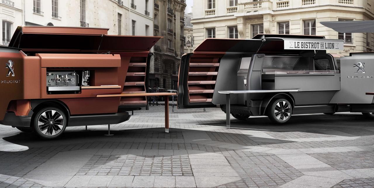 Foodtruck Peugeot - concept car