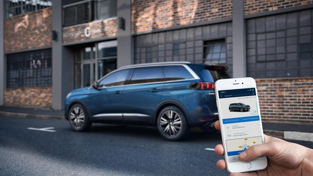 Nieuwe Peugeot 5008 SUV - MyPeugeot® App