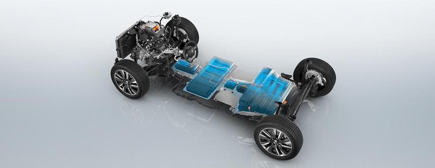 De nieuwe elektrische SUV Peugeot e-2008: nieuwe elektrische aandrijflijn met een vermogen van 100 kW