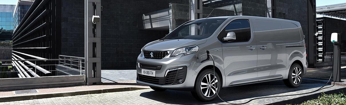 Nieuwe Peugeot e-EXPERT- de expert in het elektrische bedrijfsautosegment