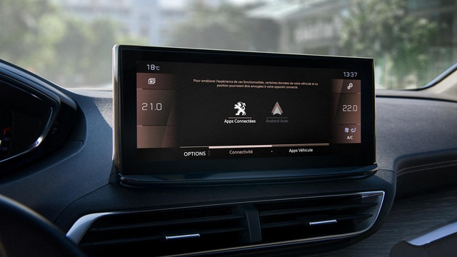 Nieuwe Peugeot 5008 SUV -  Connected HD touchscreen