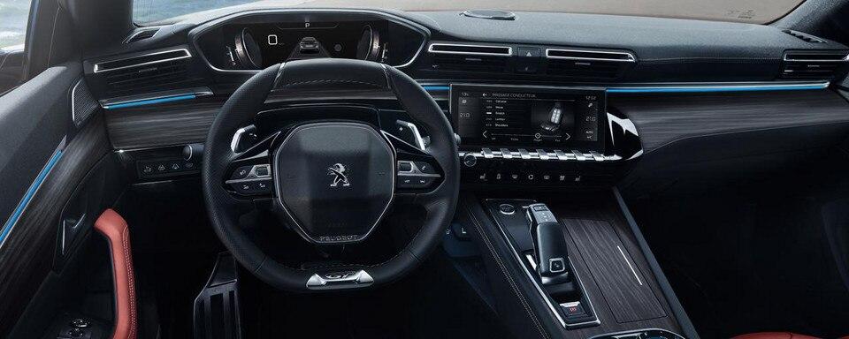 Nieuwe Peugeot 508 SW - First Edition - Interieur Peugeot i-Cockpit®