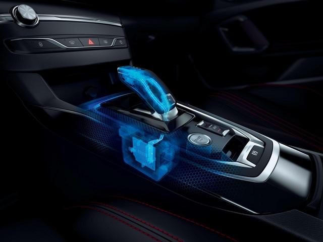 De nieuwe Peugeot 308 SW GT – Selectiehendel automatische transmissie