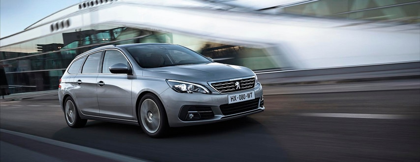 De nieuwe Peugeot 308 SW – Ranke lijnen en nieuwe voorzijde