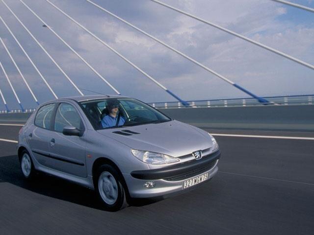 Historisch model - Peugeot 206