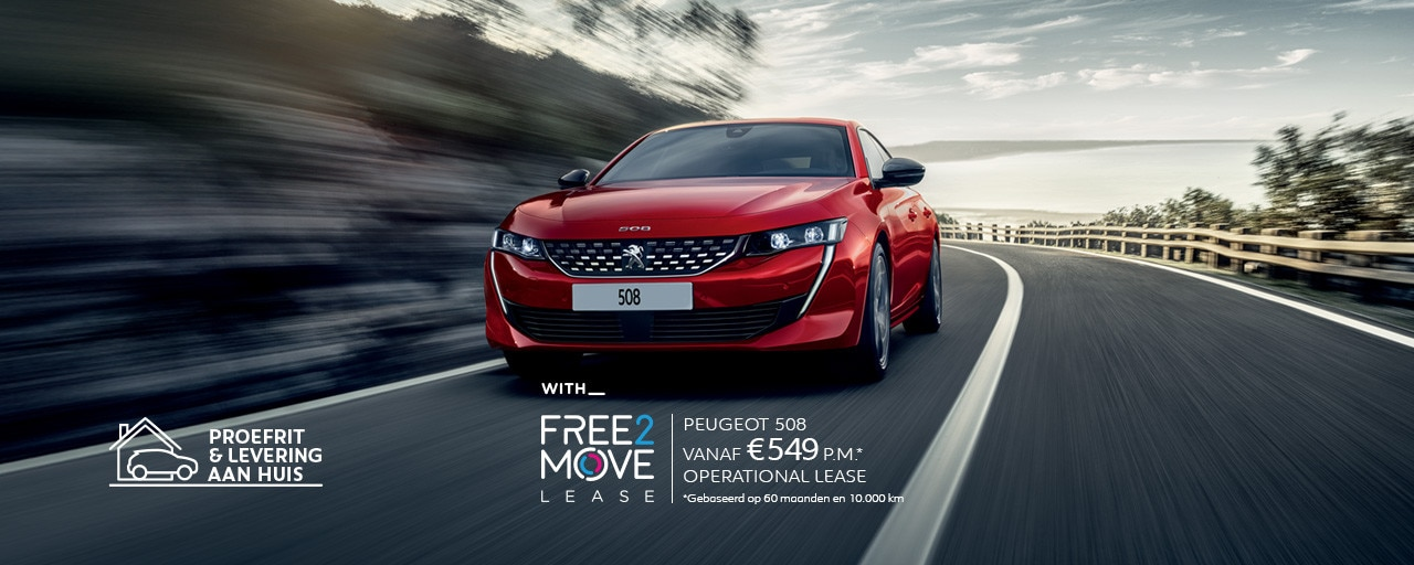 Peugeot 508 - With Free2Move Lease