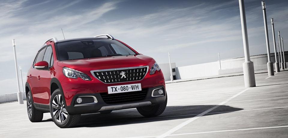 Peugeot 2008 SUV - voorzijde