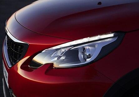 Peugeot 2008 SUV - koplampen
