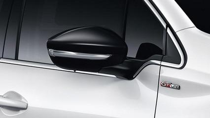 Peugeot 208 GT-Line - Buitenspiegelkappen in Noir Perla Nera