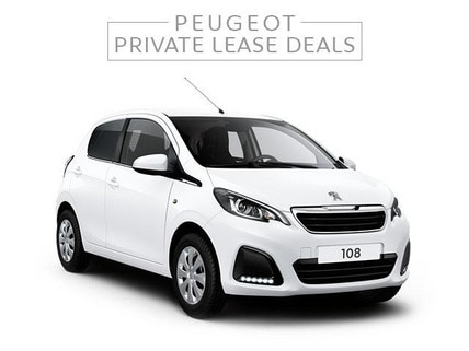 Peugeot 108 Active Private Lease Deal
